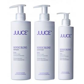 TÄGLICHE LUXUS PFLEGE FÜR BLONDES HAAR Nordic Blond Shampoo + Conditioner + Leave-in-20