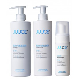 VOLUME BOOSTER VOLUME SHAMPOO + CONDITIONER + SNOW STYLING MOUSSE-20
